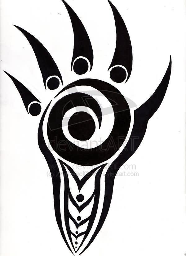 600x825 Hawaiian Warrior Clipart My Inspiration Bear Paw Tattoos