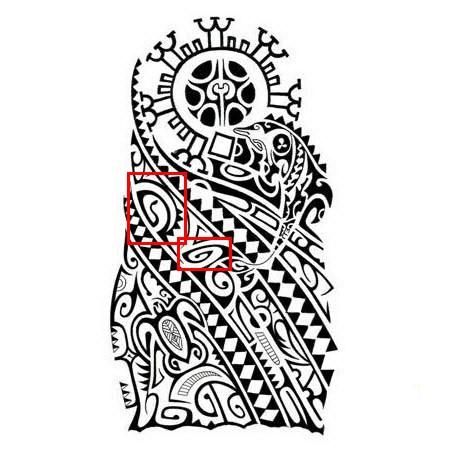 452x452 Polynesian Tattoo Symbols Meanings Tiki