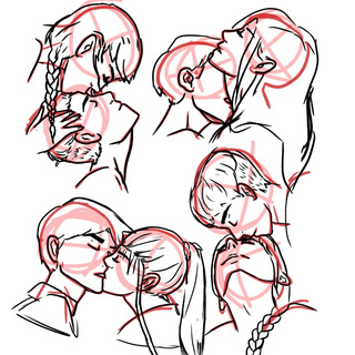320x320 Some Kissing Practice I Did I Heavily Used References Cause I