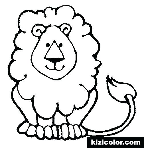 505x521 Lion Outline Drawing Clip Art Library Face License Personal Use Baby
