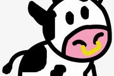 236x157 Cute Cow Head Drawing Easy Outline Cartoon Ajedrezdeen Trenamiento