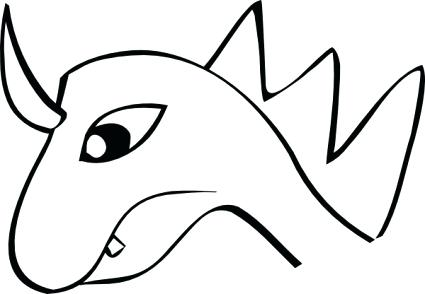 425x294 Dragon Outline How To Draw Dragons Step