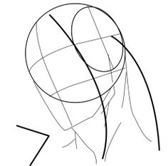 Head Study Drawing