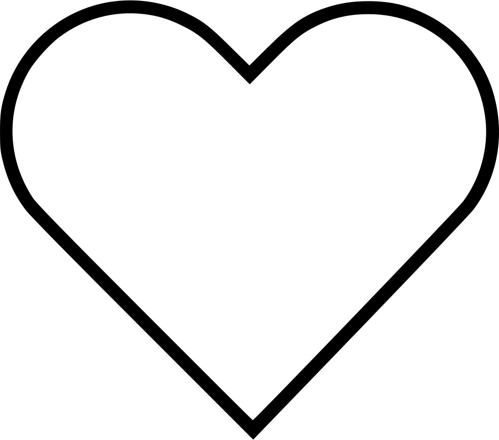 980x864 Heart Drawing Clipart Transparent Download Huge Freebie
