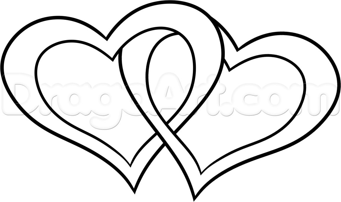 1156x684 How To Draw Heart Pictures