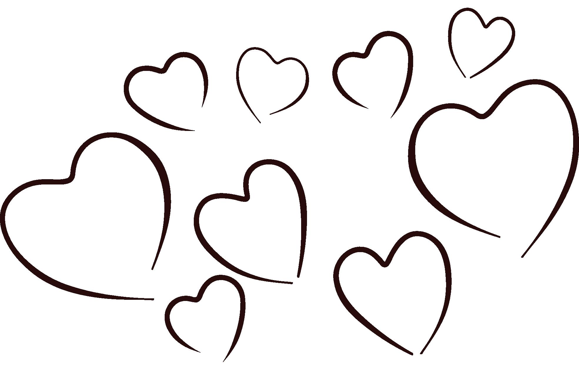 1969x1278 black heart outline clipart heart outline clipart black and white