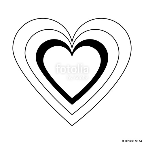500x500 Heart Cartoon Icon Image Stock Image And Royalty Free Vector