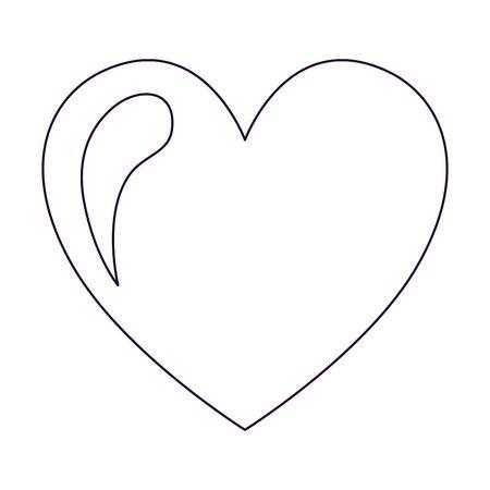 450x450 Heart Drawing