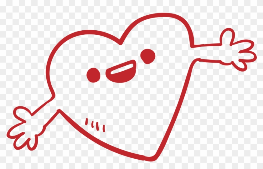 840x540 Hand Heart Drawing