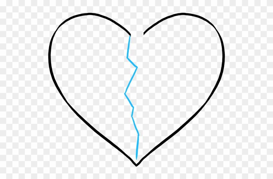 880x578 How To Draw Broken Heart
