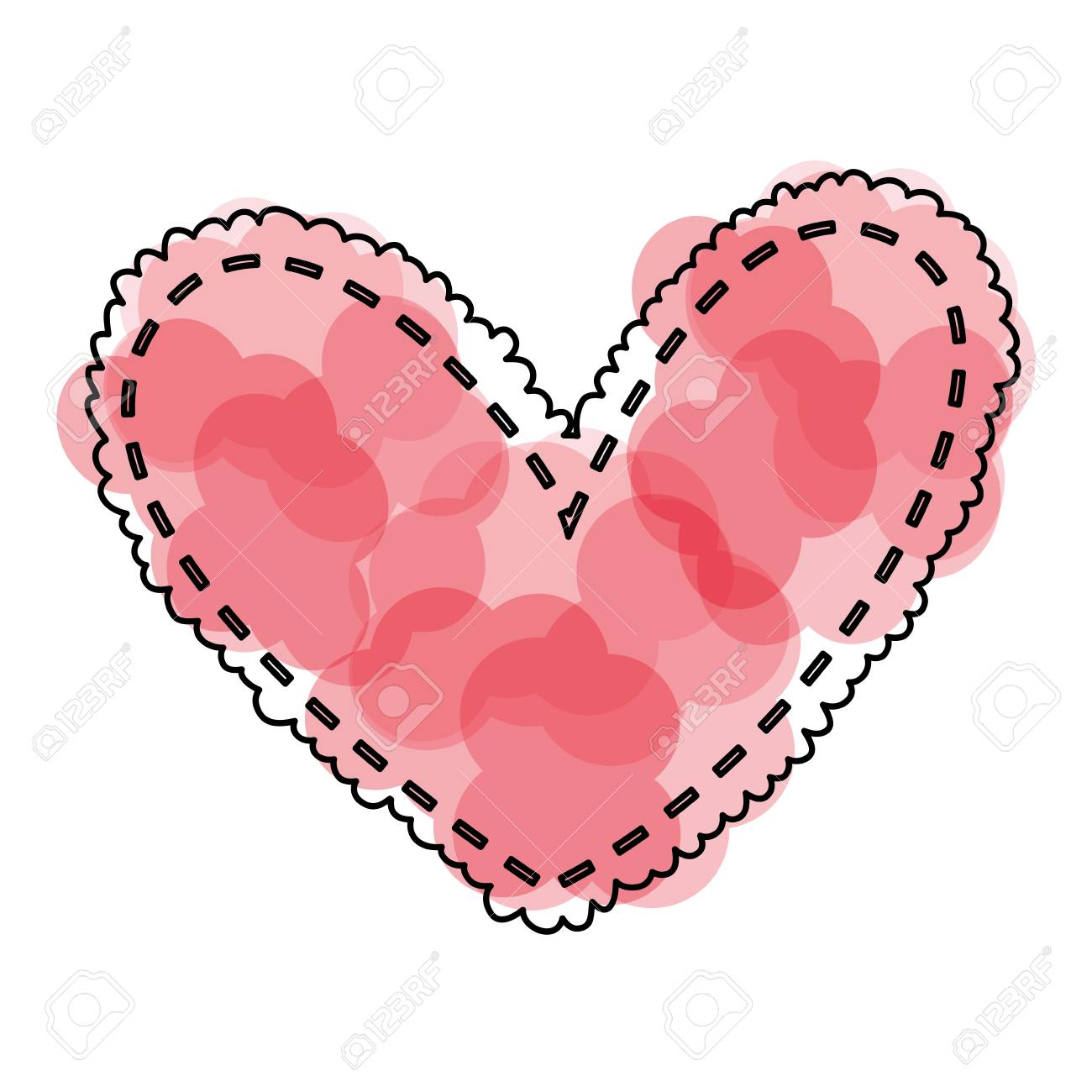 1300x1300 Huge Collection Of 'beautiful Heart Drawing' Download More Than