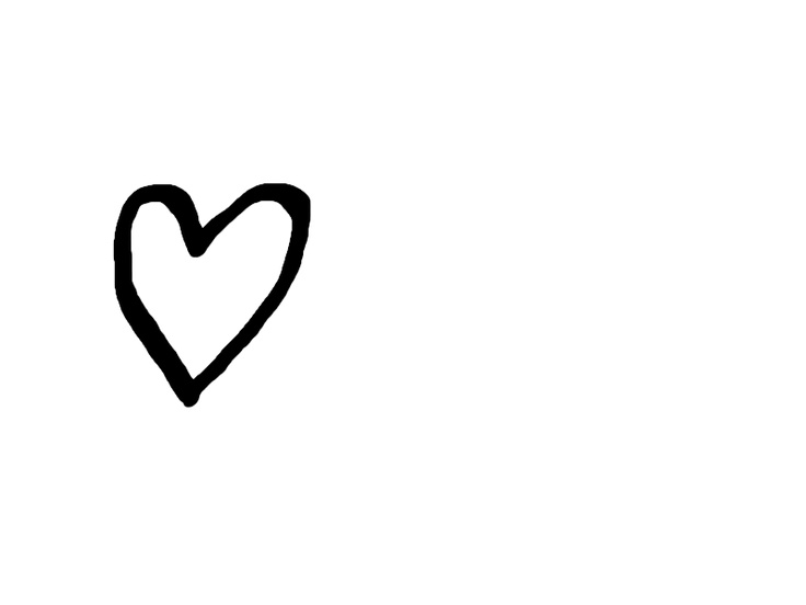 736x552 Simple Heart Drawing Free Download Clip Art