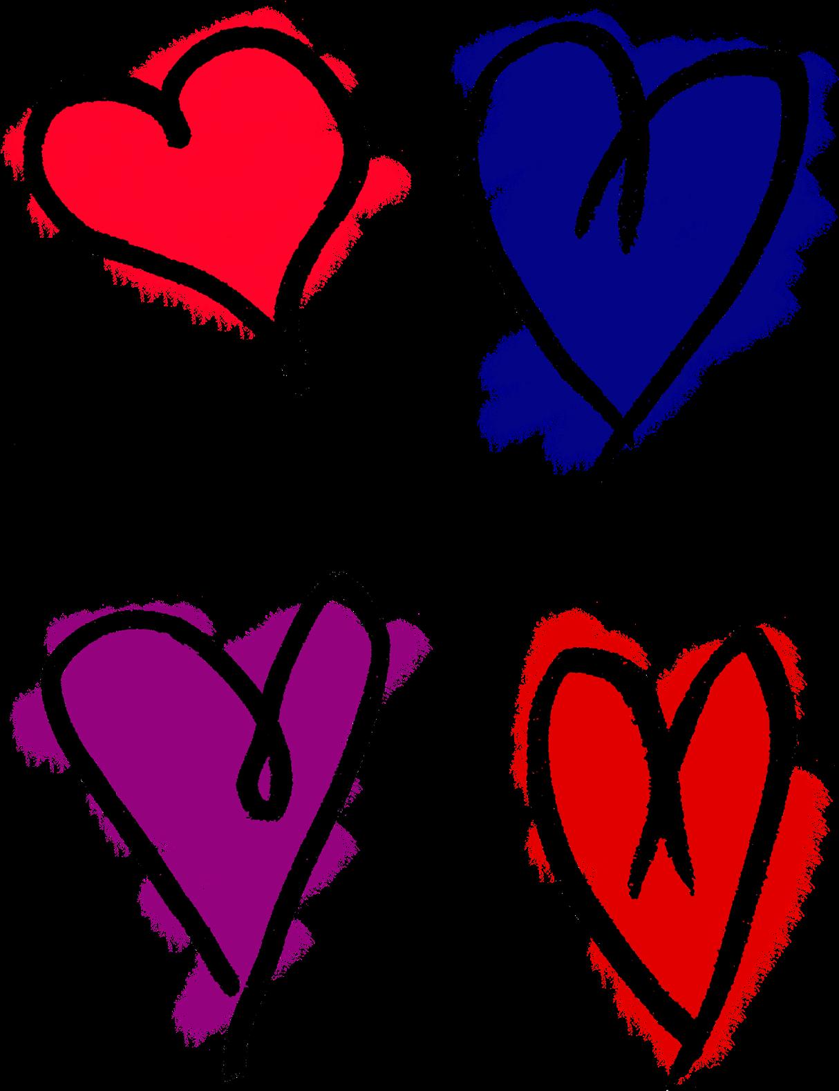 1214x1578 Download Heart Drawing Clip Art
