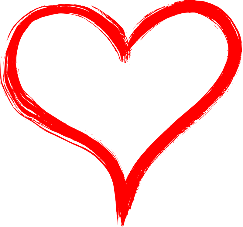 800x748 Heart Drawing Png Images In Collection