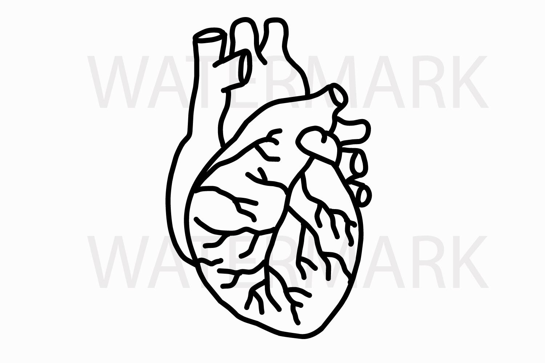 1500x1000 Heart Outline