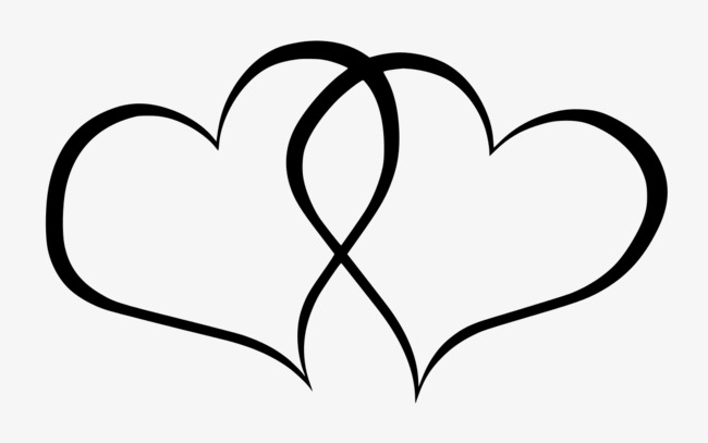 650x407 Two Black Heart Png Transparent Two Black Heart Images
