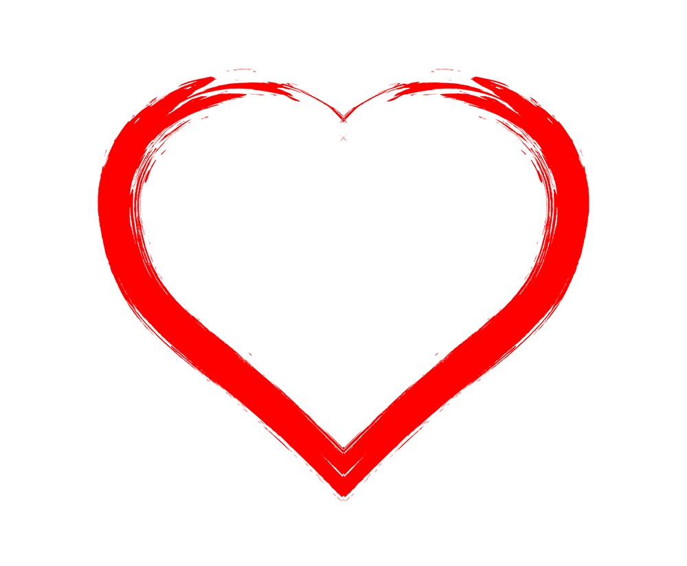 1000x824 Drawing Heart Png Transparent Without Background Image Pngheart