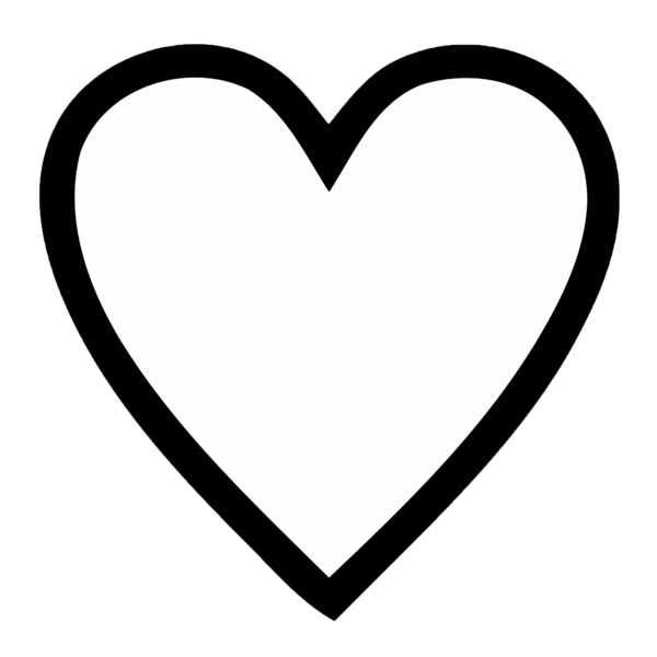 600x600 Drawing Web Heart Transparent Png Clipart Free Download