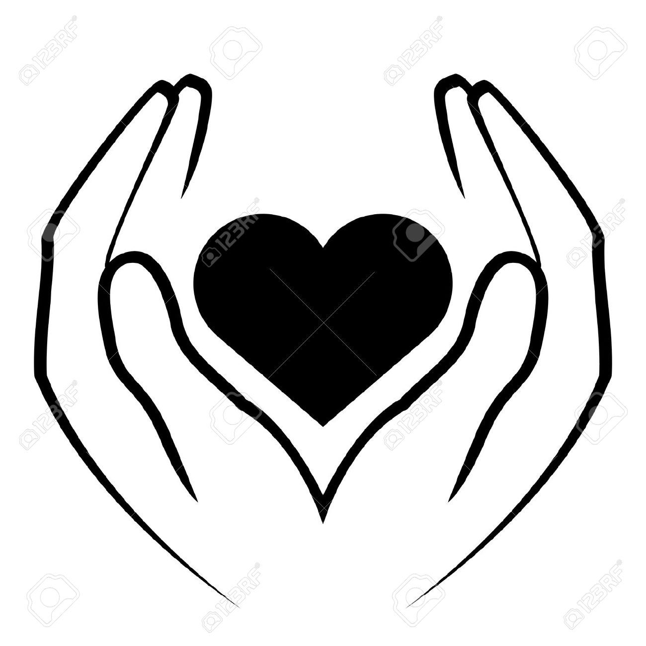 1300x1300 Hand Heart Clipart Things Of Interest Hands Holding Heart