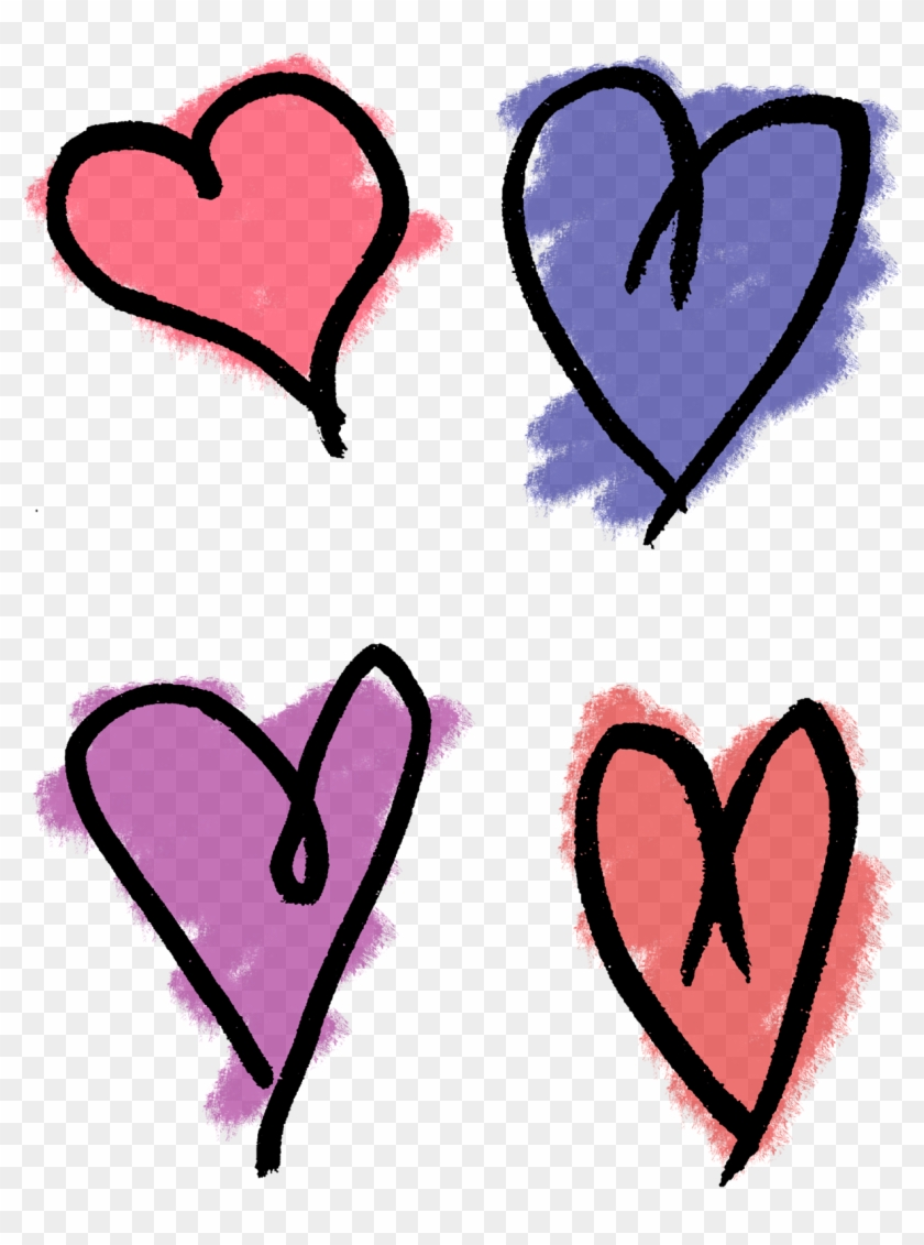 840x1131 Heart Drawing Clip Art, Hd Png Download
