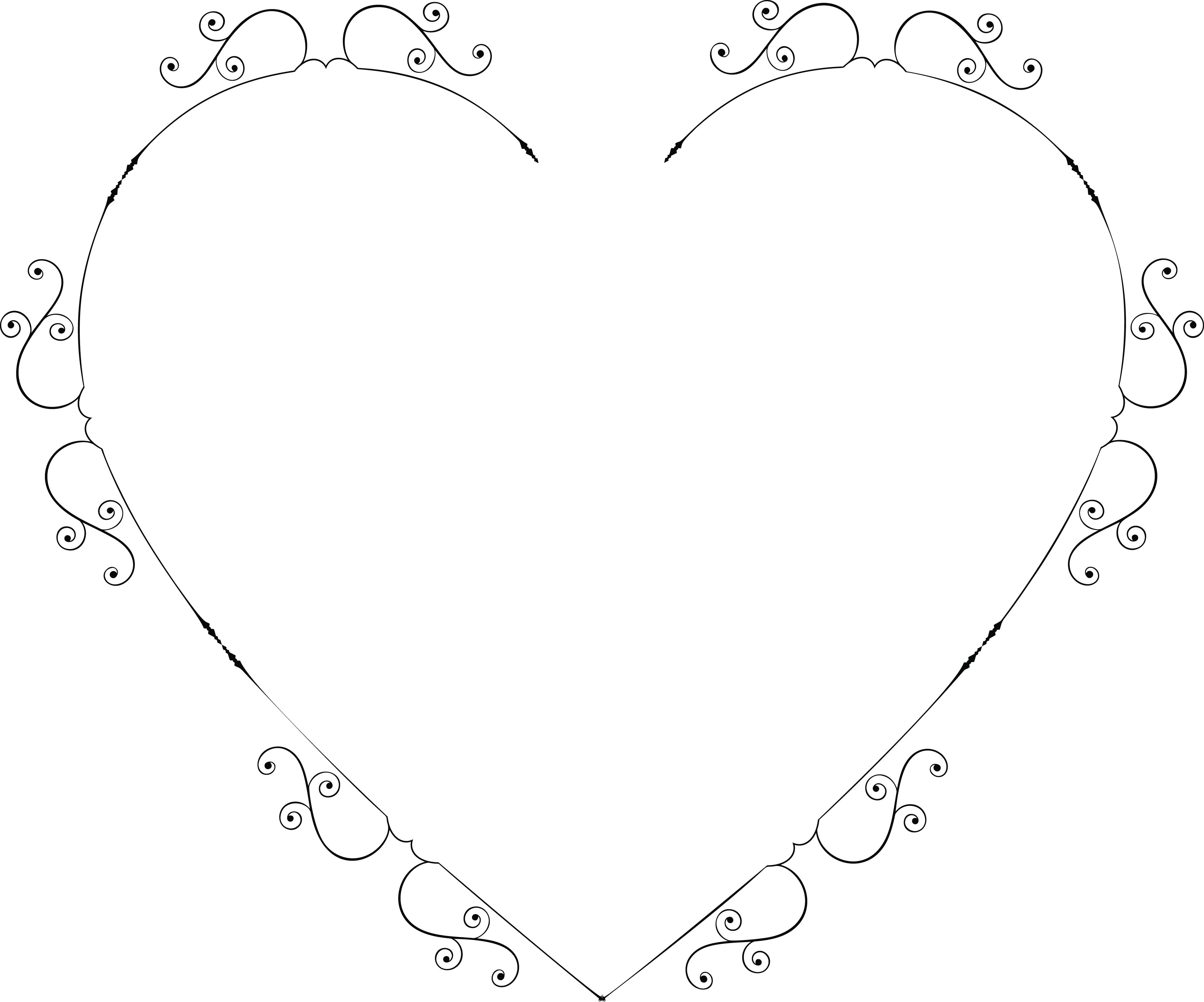 4000x3329 Cliparts For Free Download Lines Clipart Heart And Use