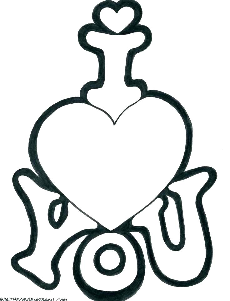 736x964 heart shape coloring pages download heart shape coloring pages