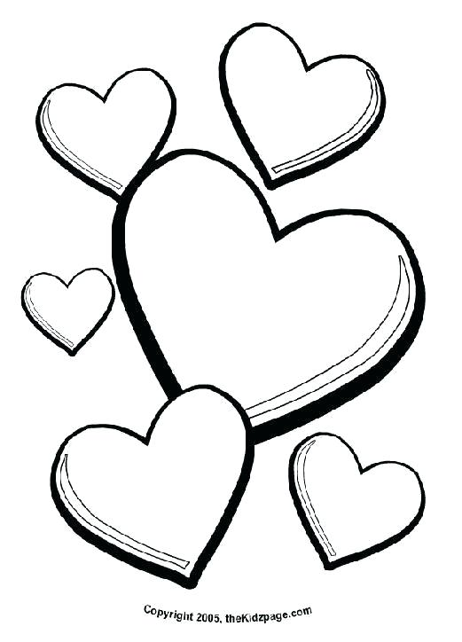 521x724 heart shape coloring pages heart shape coloring sheet pages feat
