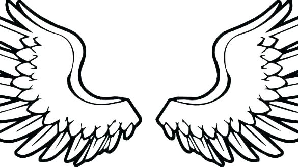Heart With Angel Wings Drawings | Free download on ClipArtMag
