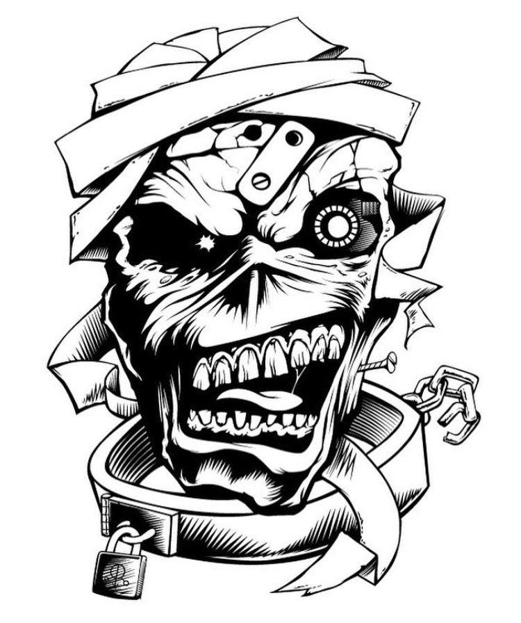 750x896 Diy Eddie Stencil! Tattoo