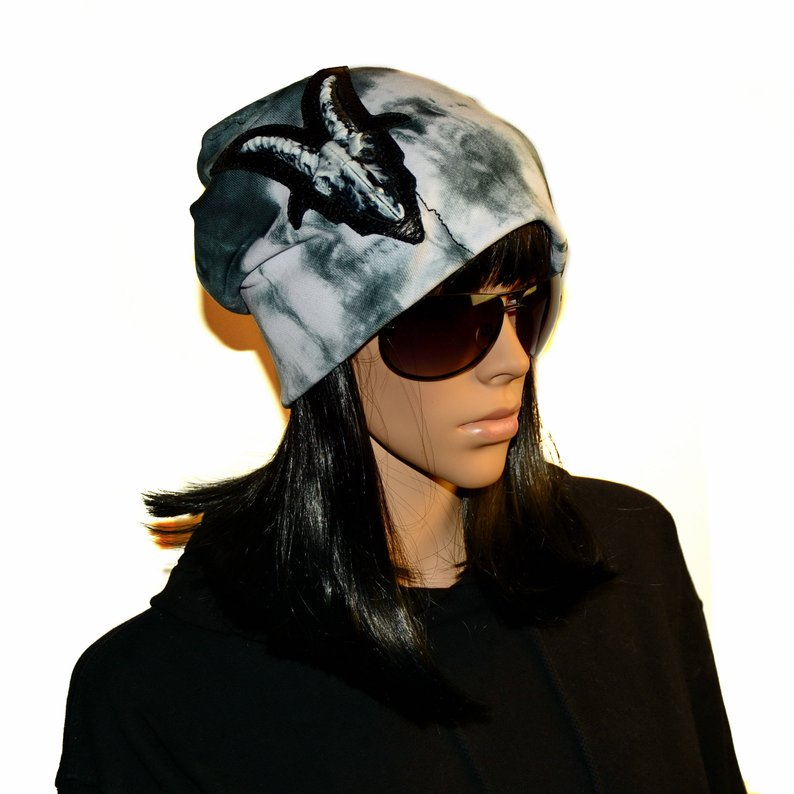 794x794 Heavy Metal Clothing Fashionable Youth Beanie Hat Mens Hat For Etsy