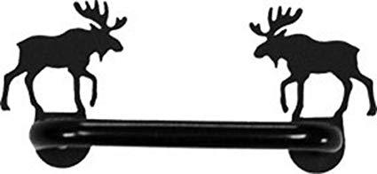 425x196 Iron Moose Horizontal Kitchen Door Handle Heavy Duty Metal Door