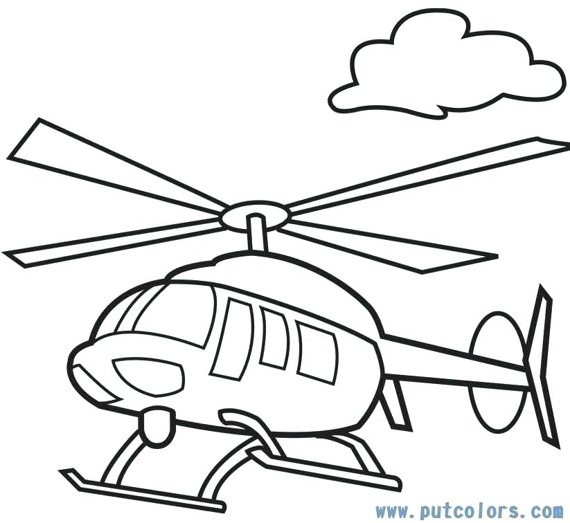 823x756 helicopter printable helicopter drawing for kids helicopter