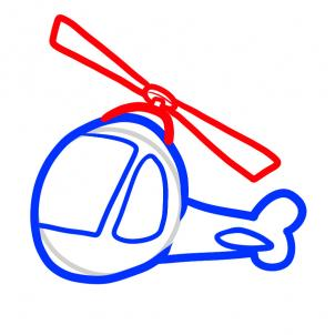 302x302 How To Draw How To Draw A Helicopter For Kids