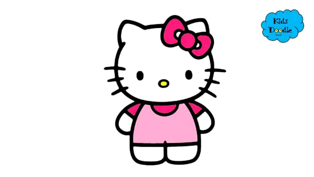 Hello Kitty Cartoon Drawing Free Download Best Hello Kitty Cartoon
