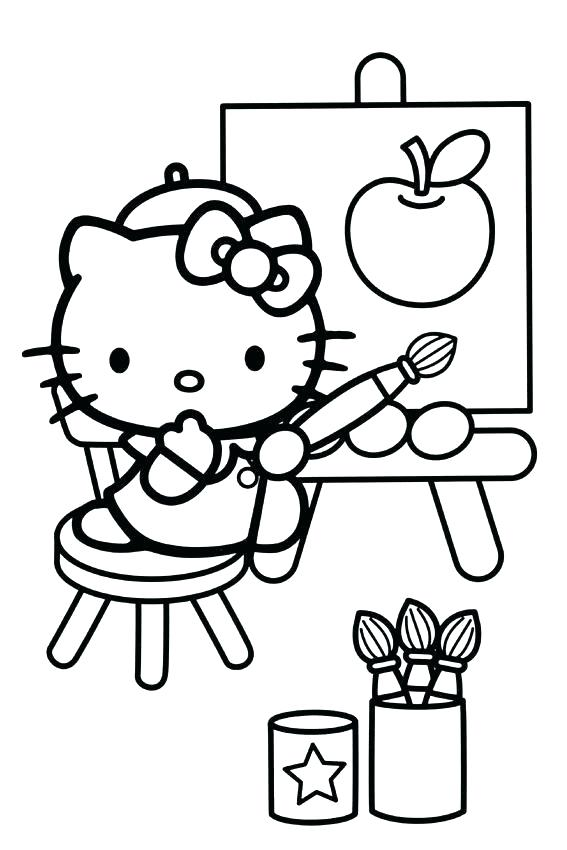 567x850 hello kitty drawing pages hello kitty coloring pages lovely hello