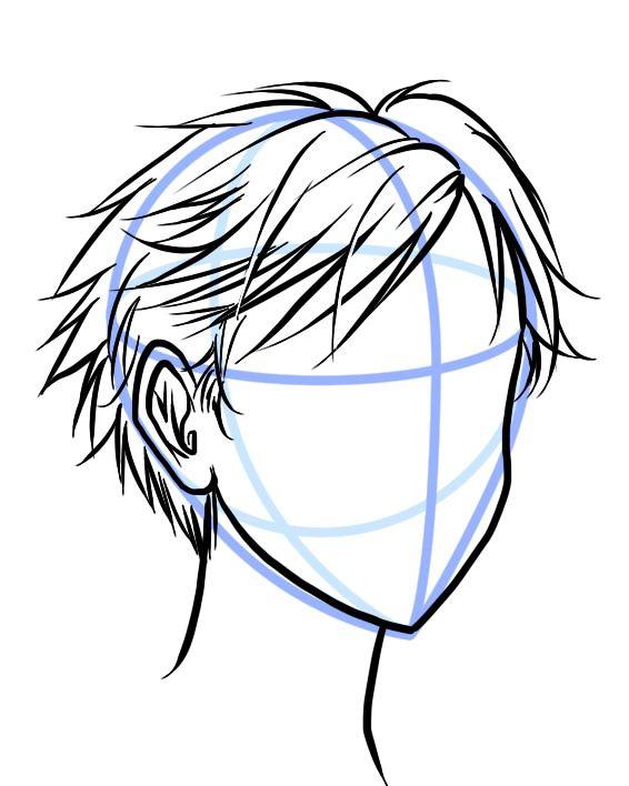 566x708 short hair drawing help short hair, shorts and manga