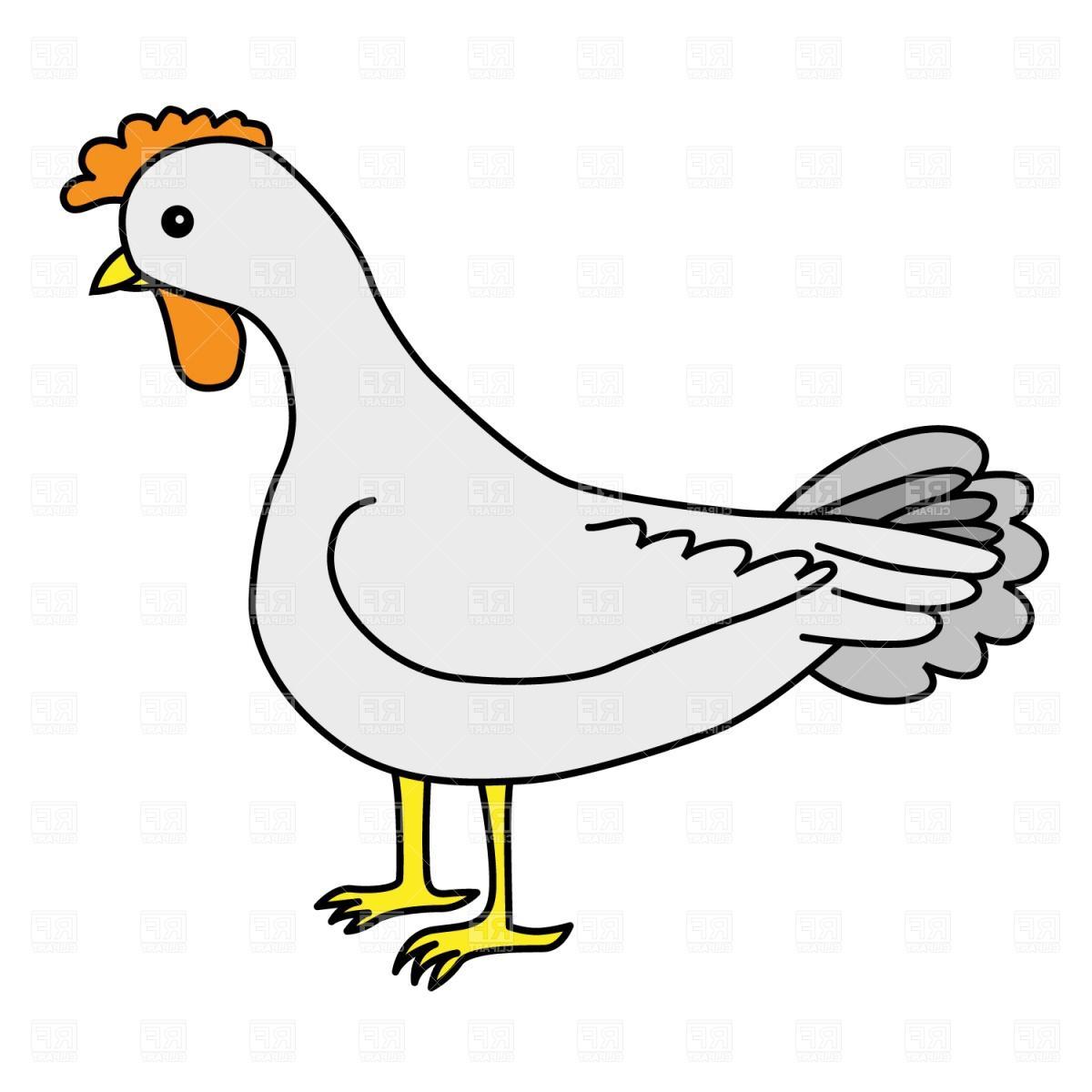 1200x1200 Best Free Cartoon Hen Clip Art Drawing Free Vector Art, Images