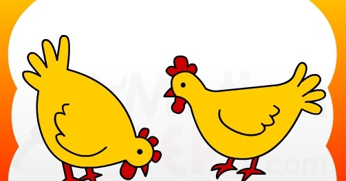 503x264 Huge Collection Of 'hen Drawing For Kids' Download More Than