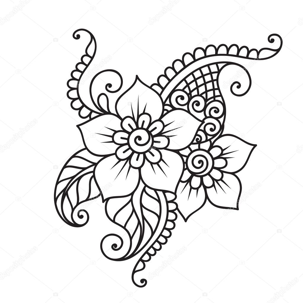Henna Designs Tumblr Drawing Free Download On Clipartmag