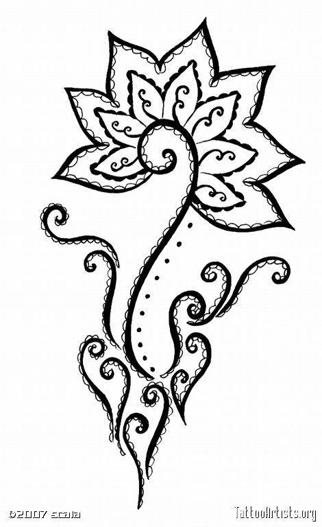Simple Henna Tattoo Designs Tumblr: Henna Designs Tumblr Drawing