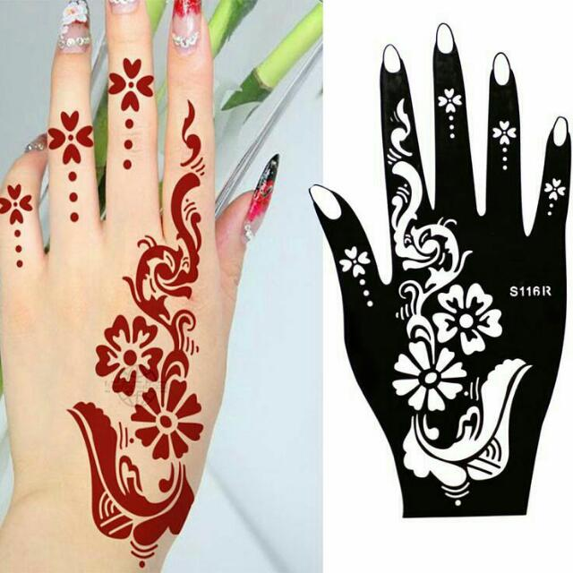 640x640 sticker henna, design craft, craft supplies tools on carousell