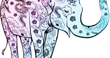 367x195 Henna Elephant Vector Archives