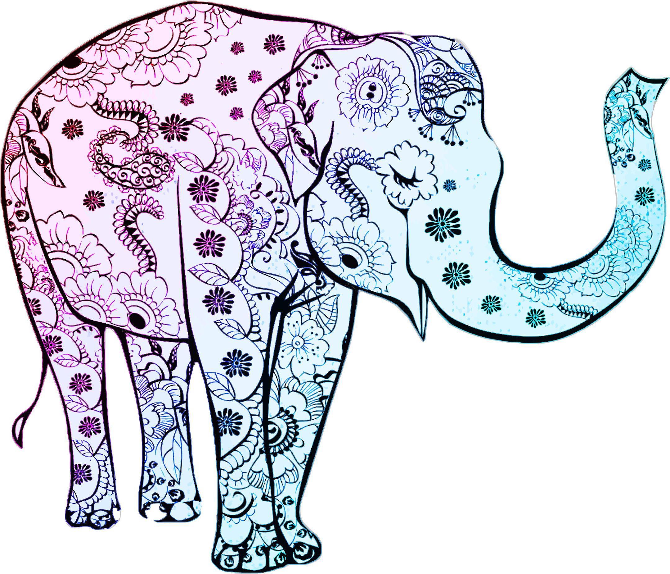 2159x1848 Best Free Henna Elephant Vector Photos Free Vector Art