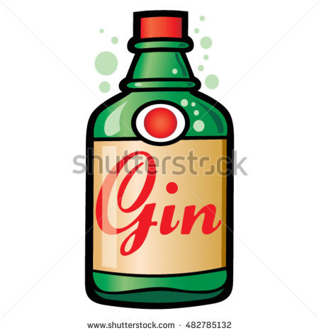 450x470 Collection Of Free Boozed Clipart Gin Bottle Download On Ui Ex