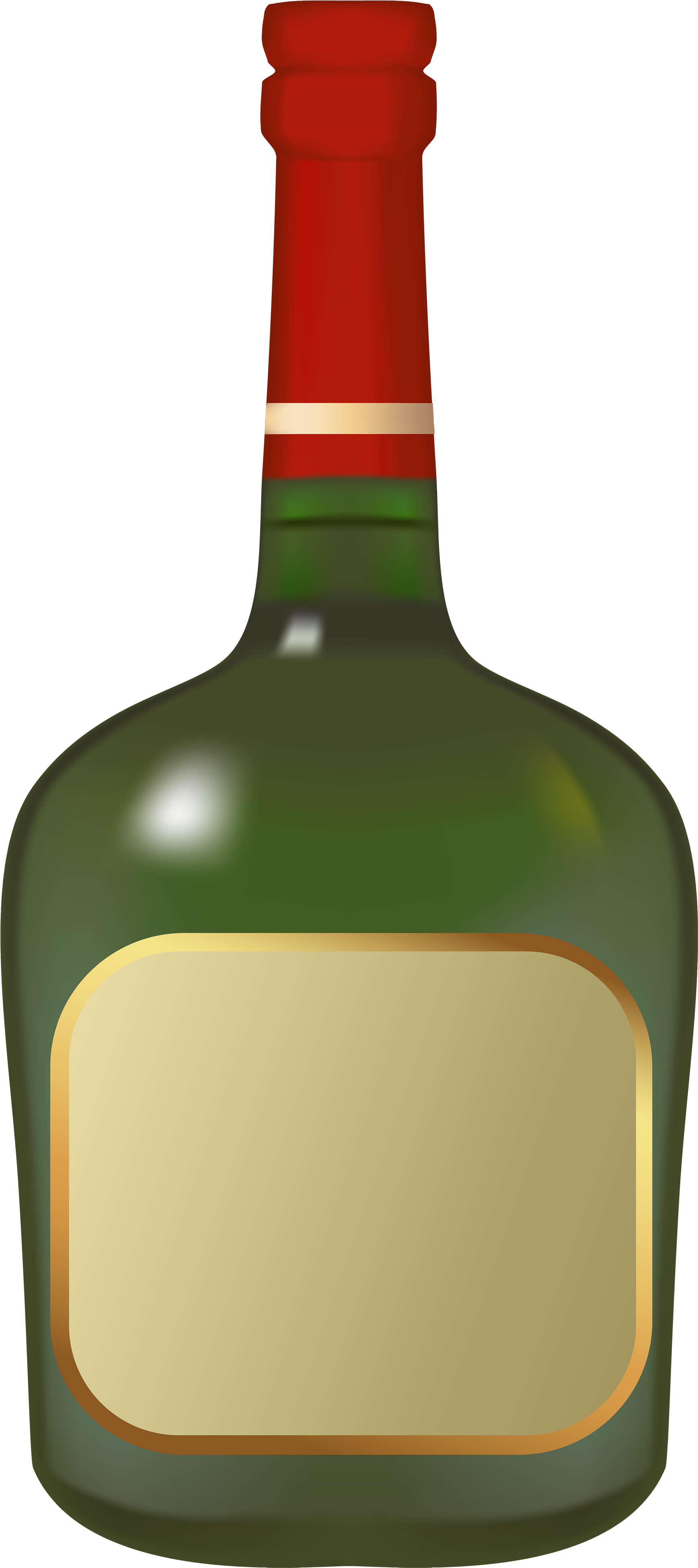 1736x3900 Hd Liquor Bottle Png Clipart