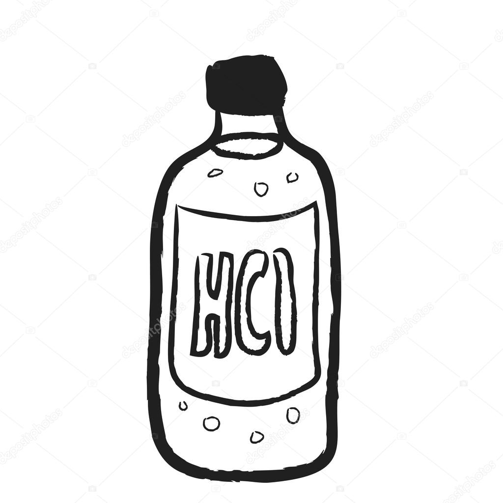 1024x1024 Alcohol Drawing Vodka Bottle For Free Download