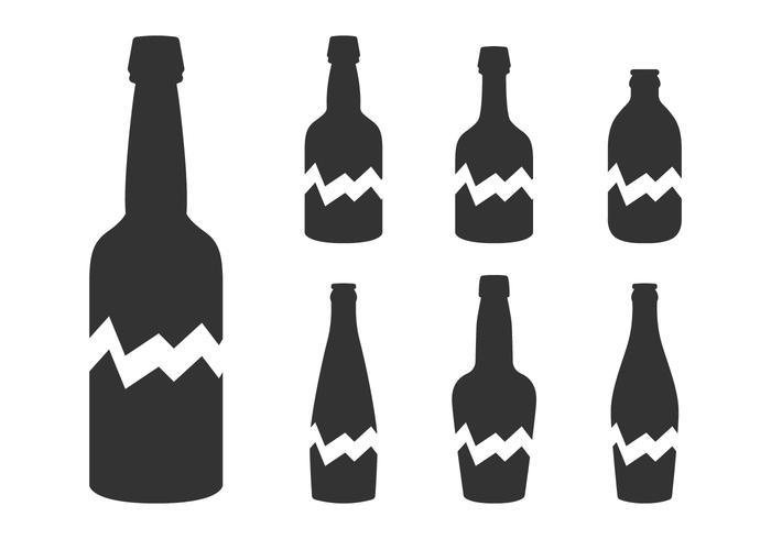 700x490 Alcohol Bottles Free Vector Art