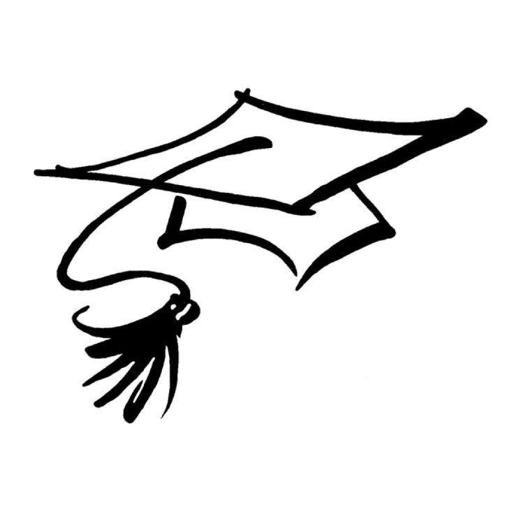 736x736 Graduation Cap Hershey Kiss Graduation Sticker Sheet Cap