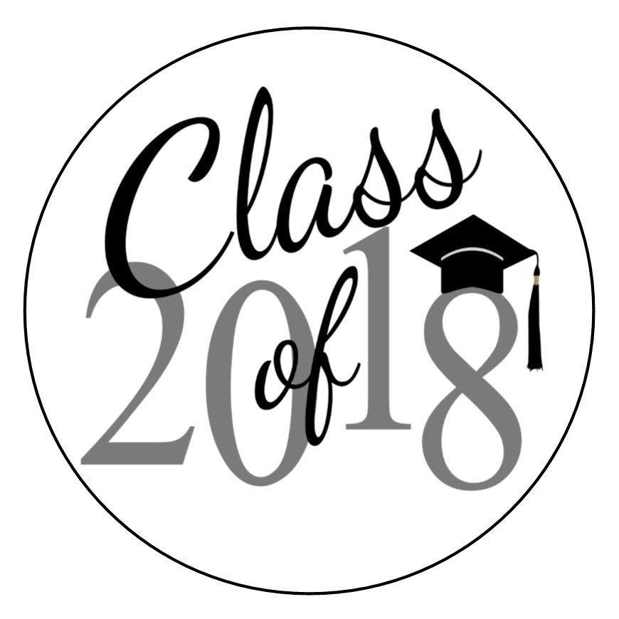 870x870 Envelope Seals Class Of Graduation