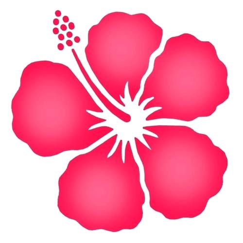 500x500 Free Hibiscus Flower Template Download Free Clip Art Free Clip Art